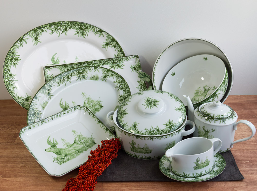 Forest Collection Serveware