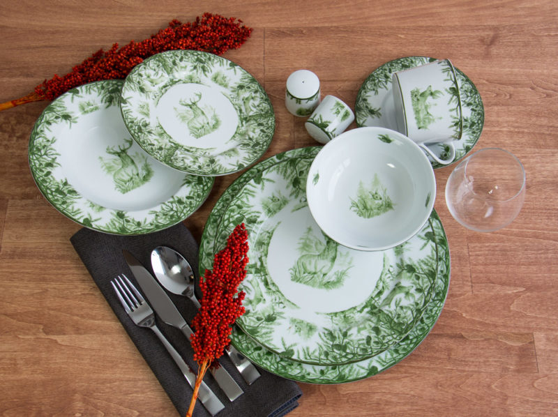 Forest Collection Dinnerware