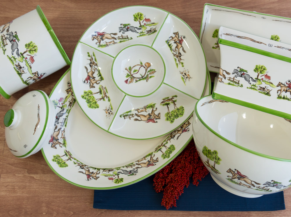 Chase Collection Serveware