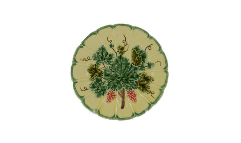 Animal Bacchus Leaf Dessert Plate