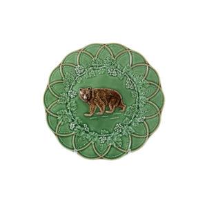 Bordallo Animal Bear Plate