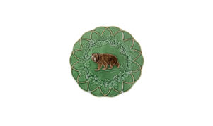 Bordallo Animal Bear Plate
