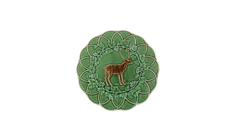 Bordallo Animal Deer Plate