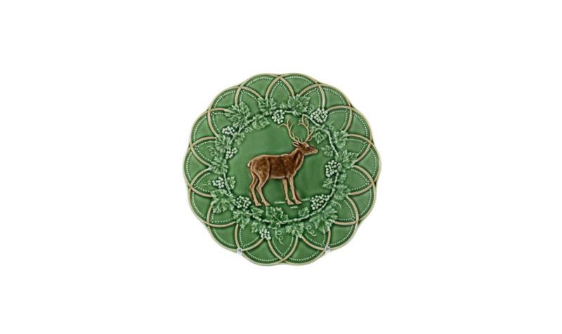 Bordallo Animal Deer Plate