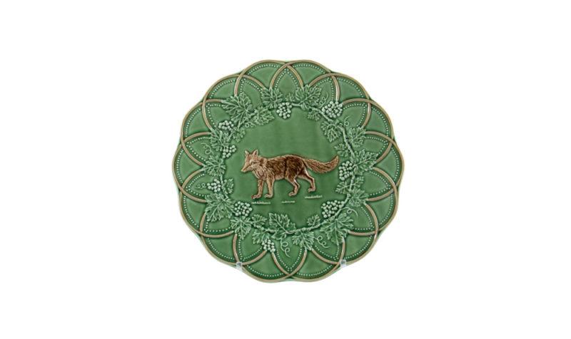 Bordallo Animal Fox Plate