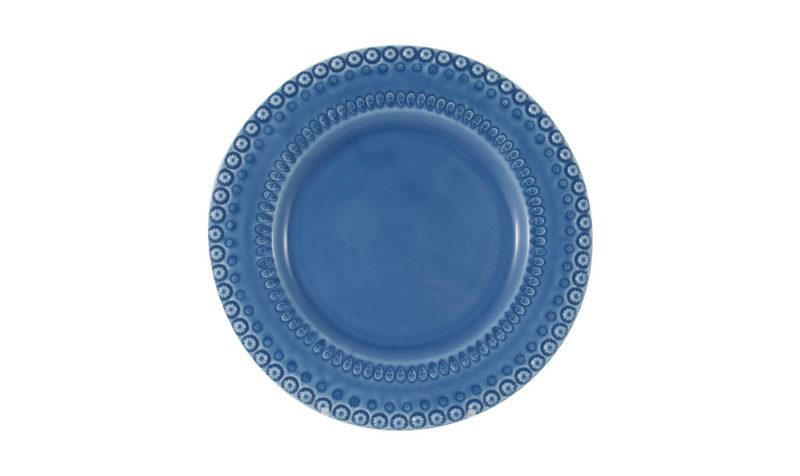 """Bordallo 10"""" Dinner Plate Blue"""