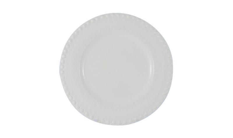 """Bordallo 10"""" Dinner Plate White"""