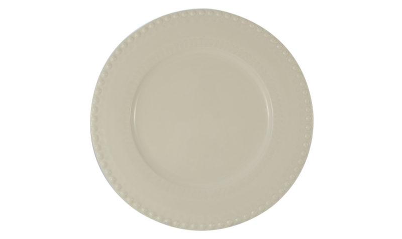 """Bordallo 12"""" Charger White"""