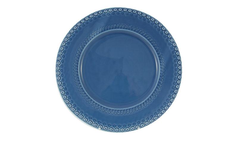 """Bordallo 12"""" Charger Blue"""