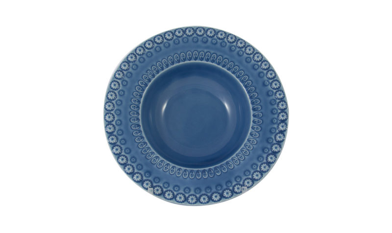 "Bordallo 6"" Cereal Bowl Blue"