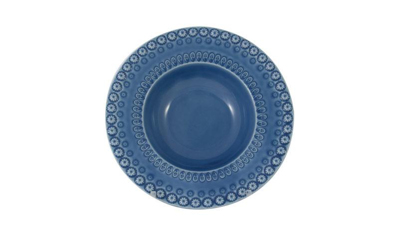 """Bordallo 6"""" Cereal Bowl Blue"""