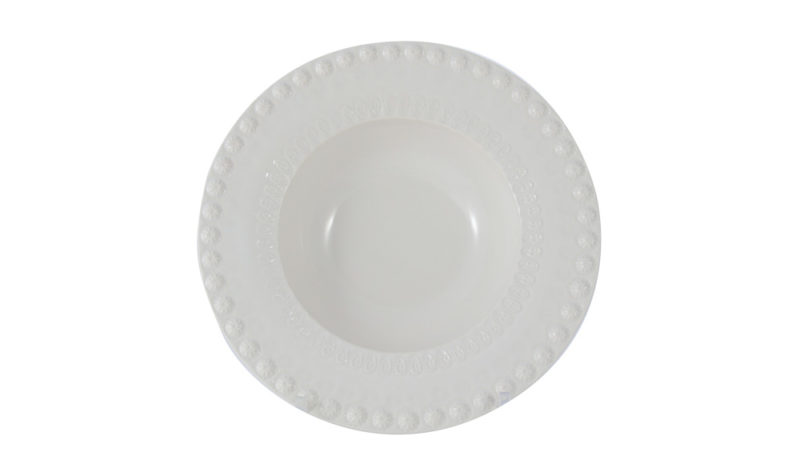 "Bordallo 6"" Cereal Bowl White"