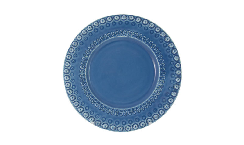 "Bordallo 8"" Dessert Plate Blue"