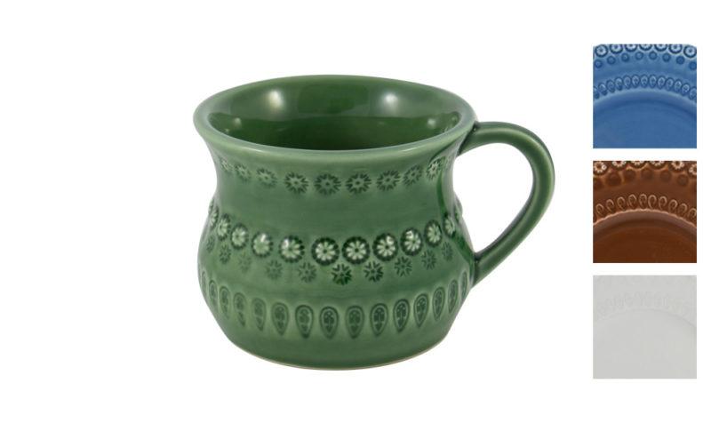 Bordallo Mug Green with Variations