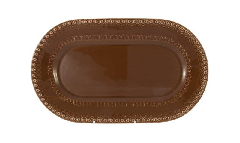 Bordallo Platter Brown