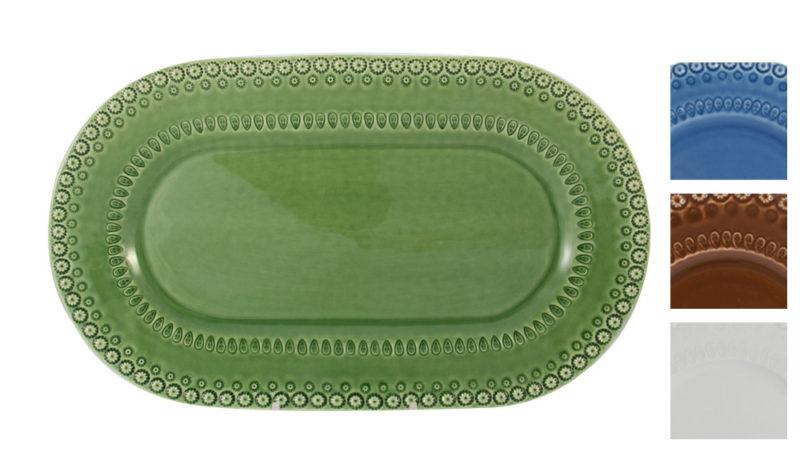 Bordallo Platter Green with Variations