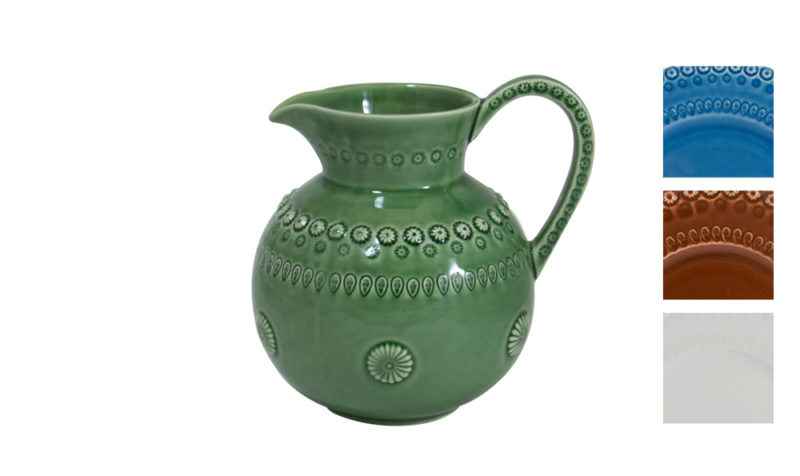 Bordallo Pitcher Green with Variation