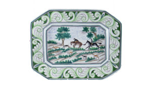 """Century Hunt 17"""" Octagonal Platter"""