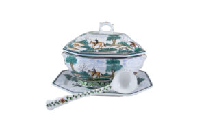 Century Hunt Octagonal Tureen Set with Top