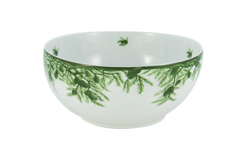 Forest Serving Bowl Side