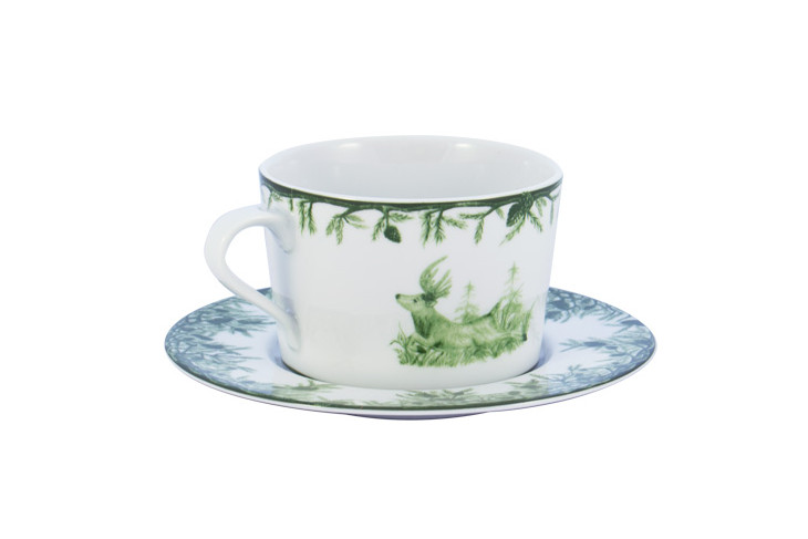 Forest 11oz Cup and Saucer