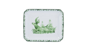 """Forest 9"""" Square Dish"""