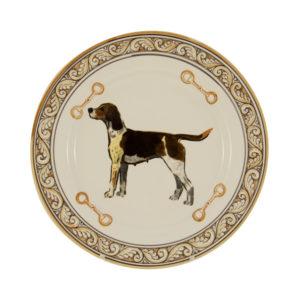 "Heritage Hound 10"" Dinner Plate"