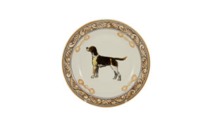 "Heritage Hound 9"" Soup Bowl"