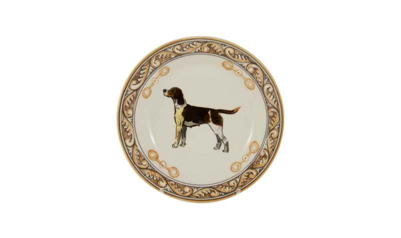 """Heritage Hound 9"""" Soup Bowl"""