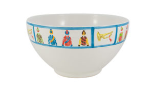 Jockey Serving Bowl Side