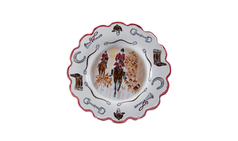"""Opening Day 10"""" Scalloped Plate"""