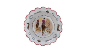 """Opening Day 11"""" Scalloped Serving Bowl"""