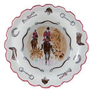 """Opening Day 14"""" Scalloped Serving Bowl"""