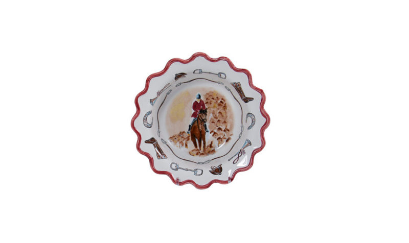 """Opening Day 7"""" Scalloped Cereal Bowl"""