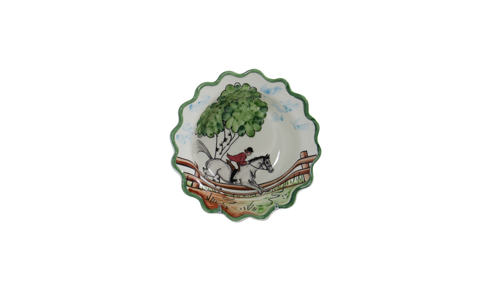 """Perfect Day 7"""" Scalloped Cereal Bowl"""
