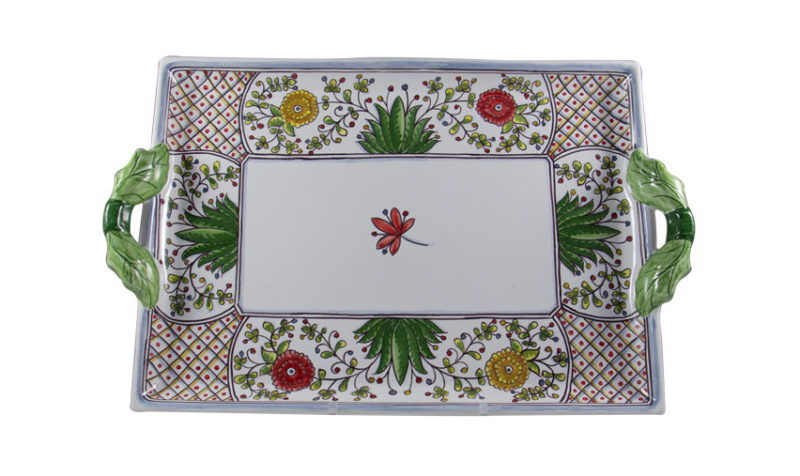 Poppy Two Handled Tray
