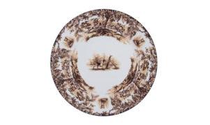 """Aiken 10"""" Rimmed Dinner Plate"""