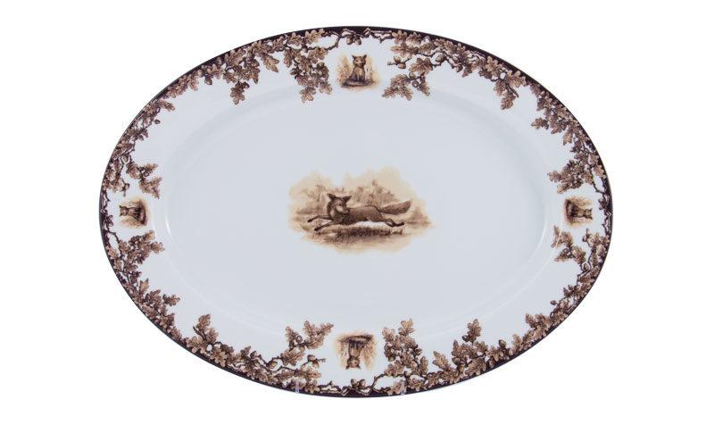 Aiken Oval Platter