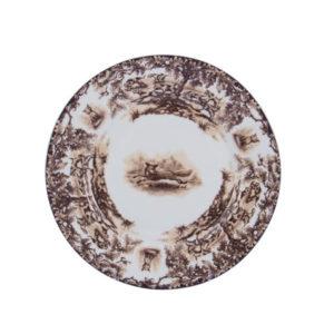 """Aiken 8"""" Rimmed Dessert Plate"""