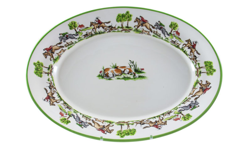 "The Chase 18"" Platter"