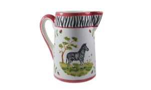 Zebra Pitcher