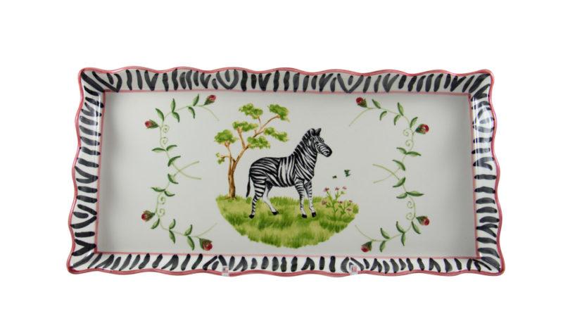 Zebra Tart Tray
