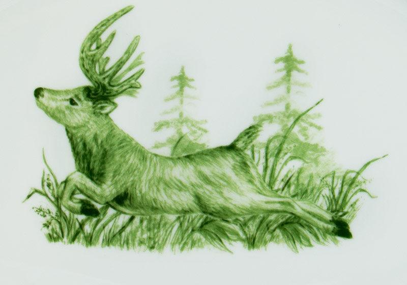 Forest Center Deer Detail