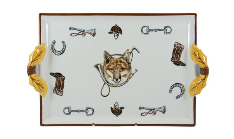Fox & Horn 2 Handed Tray