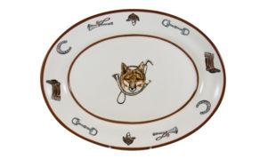 Fox & Horn Platter