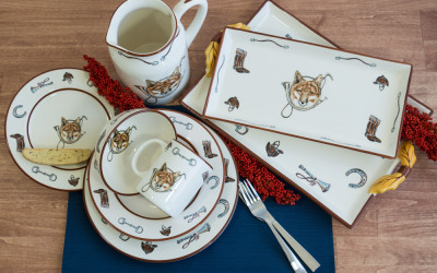 Fox & Horn Collection Dinnerware