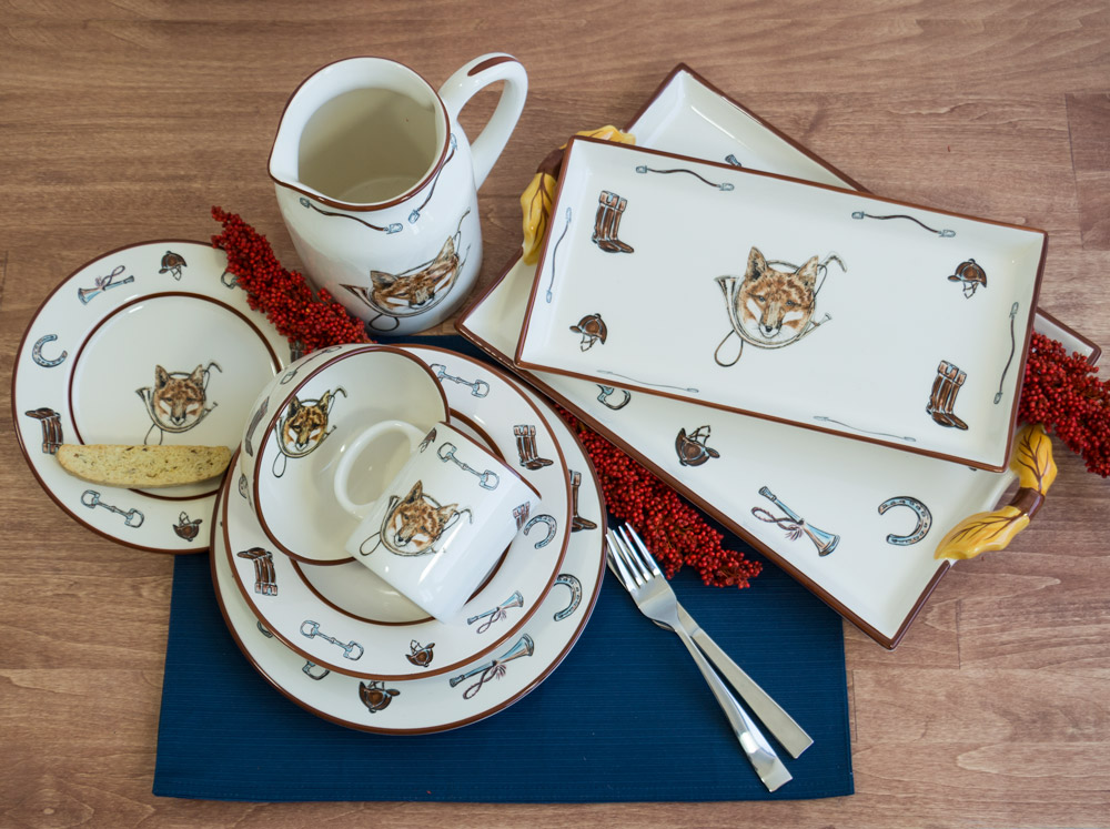 Fox & Horn Collection Dinnerware