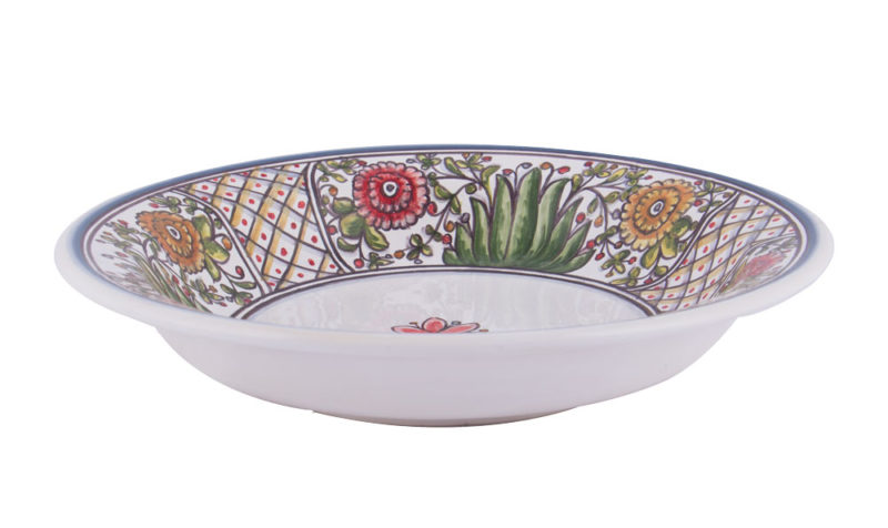 Poppy Soup Bowl Side View