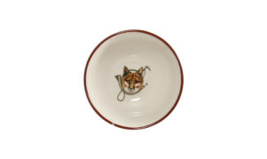 Fox Horn Cereal Bowl