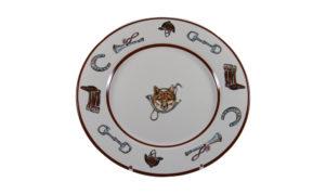 Fox Horn Dinner Plate